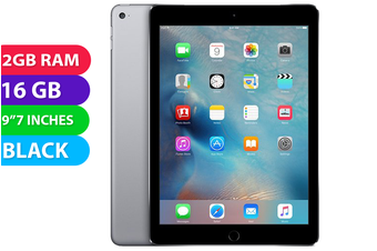 Apple iPad AIR 2 Wifi + Cellular (16GB, Space Grey) - Used as Demo