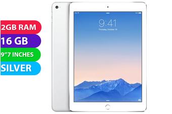 Apple iPad AIR 2 Wifi + Cellular (16GB, Silver) - Used as Demo