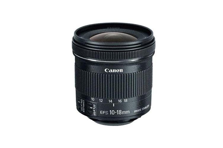 Canon EF-S 10-18mm f/4.5-5.6 IS STM Lens - FREE DELIVERY