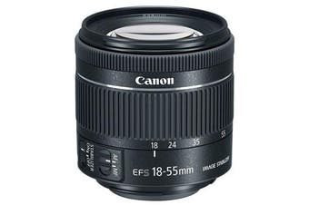 Canon EF-S 18-55mm f/4-5.6 IS STM (kit lens) - FREE DELIVERY