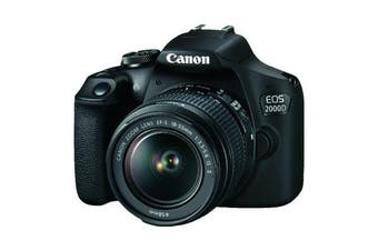 Canon 2000d Kit EF-S 18-55mm f/3.5-5.6 IS II Black - FREE DELIVERY