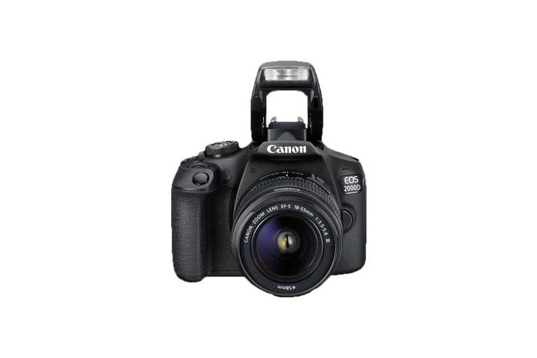 Canon 2000d Kit EF-S 18-55mm f/3.5-5.6 DC III Black - FREE DELIVERY