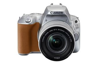 Canon 200d Kit (18-55mm) Silver - FREE DELIVERY