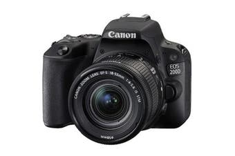 Canon 200d Kit (18-55mm) Black - FREE DELIVERY