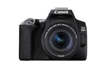 Canon 200d II Kit (18-55mm) Black - FREE DELIVERY