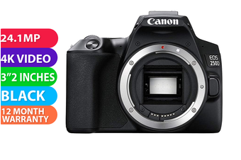 Canon 250D Black - FREE DELIVERY