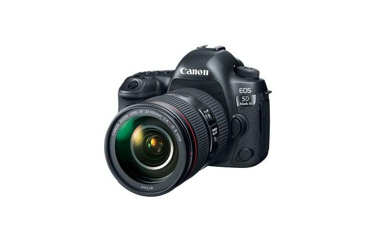 Canon 5d Mark IV with EF 24-105mm f/4L II USM Lens Kit - FREE DELIVERY