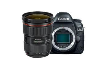 Canon 5d Mark IV with EF 24-70mm f/2.8L II USM Lens Kit - FREE DELIVERY