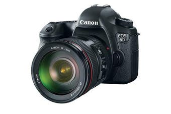 Canon 6d with EF 24-105mm f/4.0 L IS USM Lens kit - FREE DELIVERY