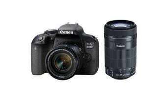 Canon 800d Twin Kits (18-55)(55-250 STM) - FREE DELIVERY