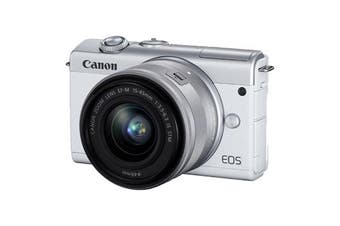 Canon M200 kit (22) (15-45) White - FREE DELIVERY