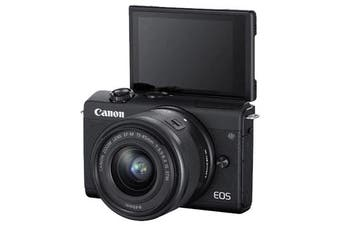 Canon M200 kit 15-45 Black - FREE DELIVERY