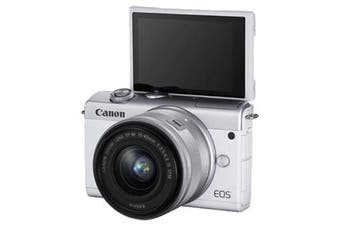 Canon M200 kit 15-45 White - FREE DELIVERY