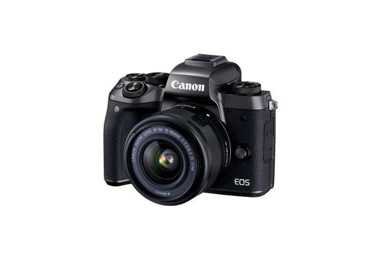 Canon M5 kit (15-45mm) Black - FREE DELIVERY
