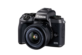 Canon EOS M5 kit (15-45mm) Digital Cameras Black Demo Model (6 MONTH WARRANTY)