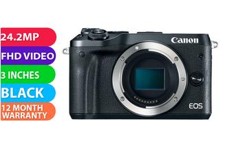Canon EOS M6 Body Silver - FREE DELIVERY