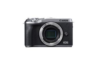 Canon M6 MK II Body (kit box) Silver - FREE DELIVERY