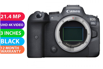 Canon EOS R6 Body No Adapter - FREE DELIVERY