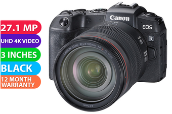 Canon EOS RP Kit (RF 24-105 IS STM) With Adapter Camera - FREE DELIVERY