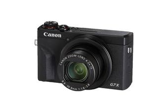 Canon PowerShot G7 X Mark III Black - (FREE DELIVERY)