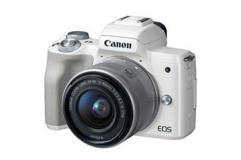 Canon M50 Kit (15-45mm)  White - FREE DELIVERY