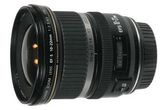 Canon EF-S 10-22mm 10-22 f/3.5-4.5 f3.5-4.5 USM WIDE - FREE DELIVERY