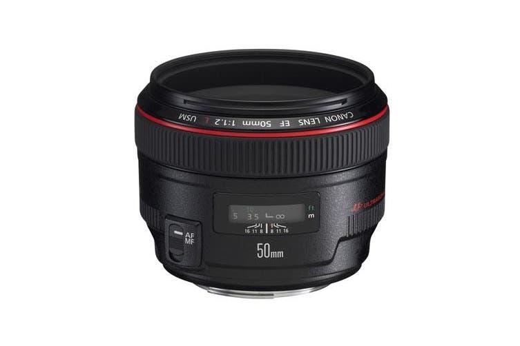 Canon EF 50mm f/1.2 L USM 50 f1.2 L USM - FREE DELIVERY