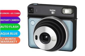 Fujifilm Instax SQUARE SQ6 Camera Aqua Blue - FREE DELIVERY
