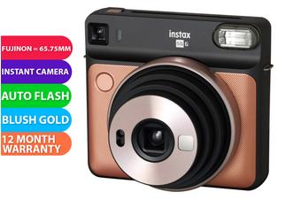 Fujifilm Instax SQUARE SQ6 Camera Blush Gold - FREE DELIVERY
