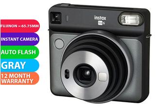 Fujifilm Instax SQUARE SQ6 Camera Graphite Gray - FREE DELIVERY
