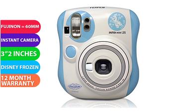 Fujifilm Instax Mini 25 Instant Film Camera Disney Frozen - FREE DELIVERY