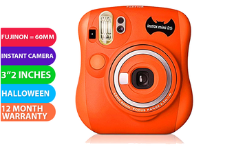 Fujifilm Instax Mini 25 Instant Film Camera Halloween - FREE DELIVERY