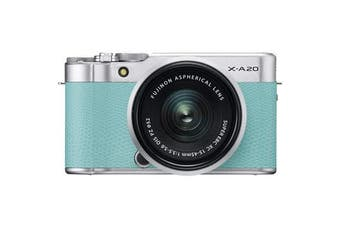 Fujifilm X-A20 (15-45) Kit Green - FREE DELIVERY