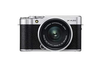 Fujifilm X-A20 (15-45) Kit Silver - FREE DELIVERY