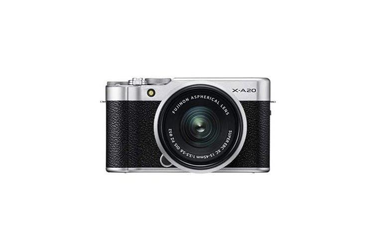 Fujifilm X-A20 (15-45) Kit Silver - FREE DELIVERY