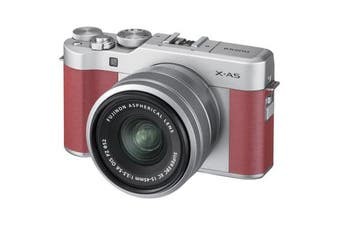 Fujifilm x-a5 Kit (15-45mm) Pink - FREE DELIVERY