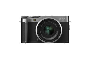 Fujifilm x-a7 Kit (15-45mm) Dark Silver - FREE DELIVERY