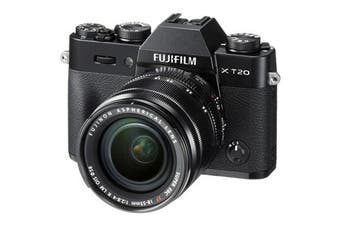Fujifilm x-t20 Kit (18-55mm) Black - FREE DELIVERY