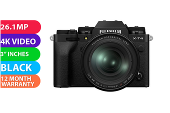 Fujifilm x-t4 Kit 16-80 Silver - FREE DELIVERY