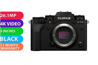Fujifilm x-t4 Body Black - FREE DELIVERY
