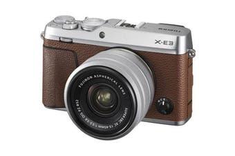 Fujifilm x-e3 (15-45) Kit Brown - FREE DELIVERY
