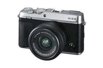 Fujifilm x-e3 (15-45) Kit Silver - FREE DELIVERY