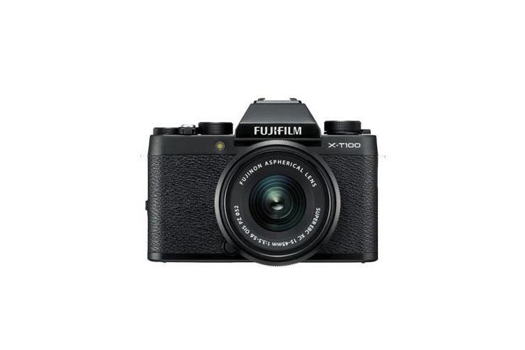 Fujifilm x-t100 (15-45mm) Black - FREE DELIVERY