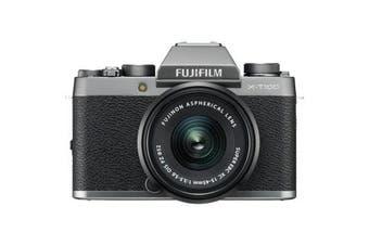 Fujifilm x-t100 (15-45mm) Kit Dark Silver - FREE DELIVERY