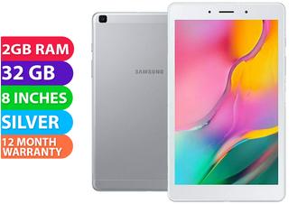 Samsung Galaxy Tab A 8.0 2019 4G LTE (2GB RAM, 32GB, Silver Gray) - FREE DELIVERY