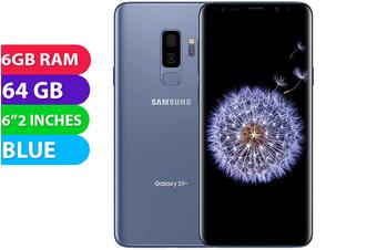 Samsung Galaxy S9+ Plus 4G LTE (64GB, Blue) - As New