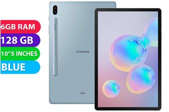 Samsung Galaxy Tab S6 4G LTE (128GB, Cloud Blue) - Used as Demo