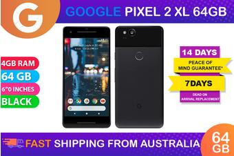 Google Pixel 2XL (64GB, Just Black) - As New