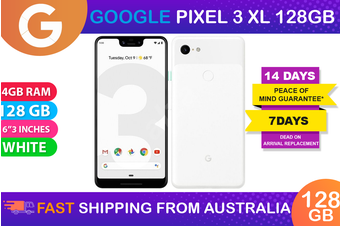 Google Pixel 3XL (128GB, White) - Used as Demo