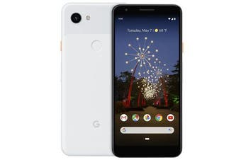 Google Pixel 3a XL 4G LTE (4GB RAM, 64GB,  White) - FREE DELIVERY